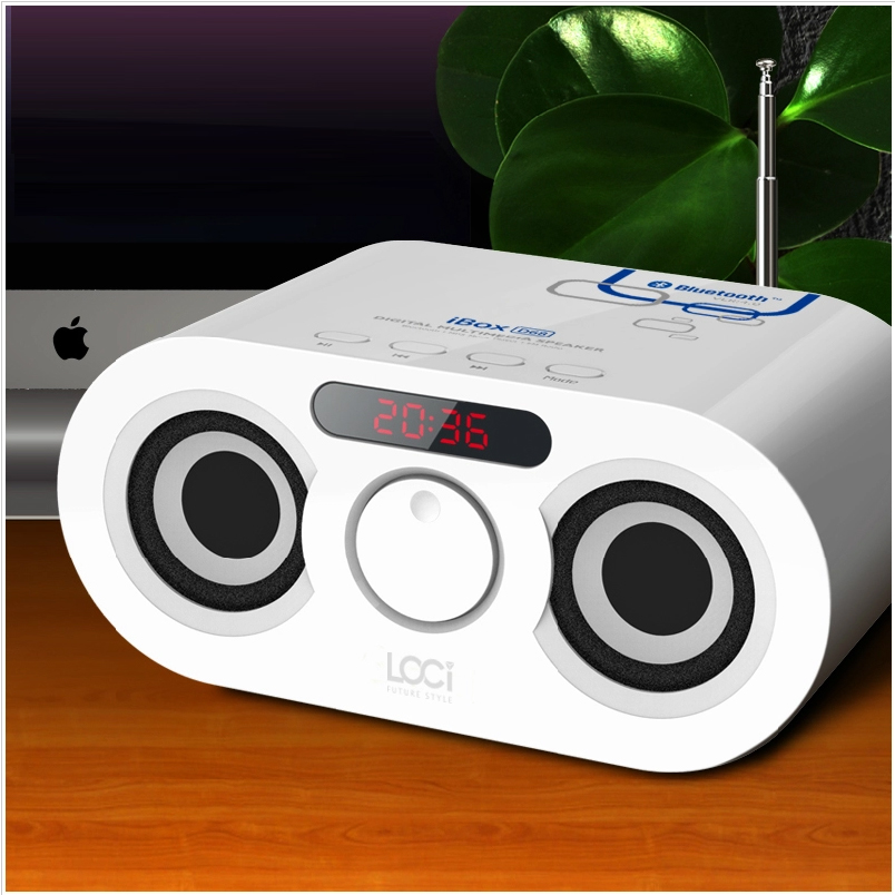 Long skills d68 sinology small stereo bluetooth card u disk player mini subwoofer speaker radio