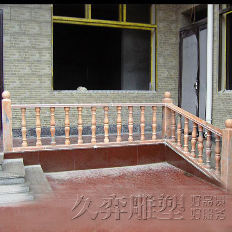 [Long yi] stone sculpture marble railing fence villa balcony railing fence outdoor patio fence