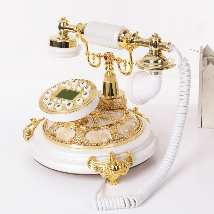 Look win luxury fashion home upscale european antique telephones retro vintage telephone landline bluescreen