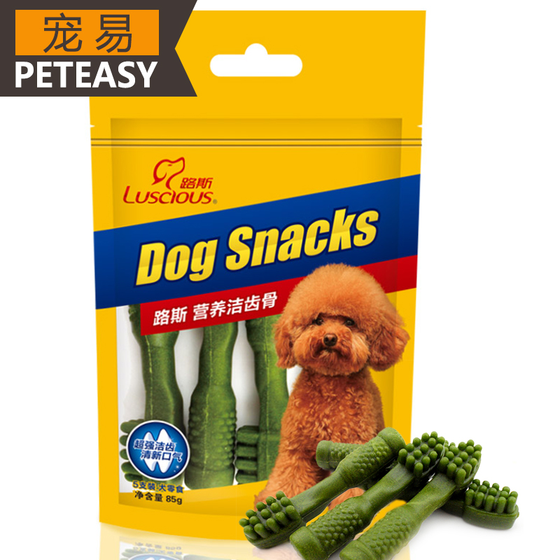 Loos pet treats dog snacks molar tooth cleaning stick golden teddy bichon dog chews dog snacks in addition to bad breath
