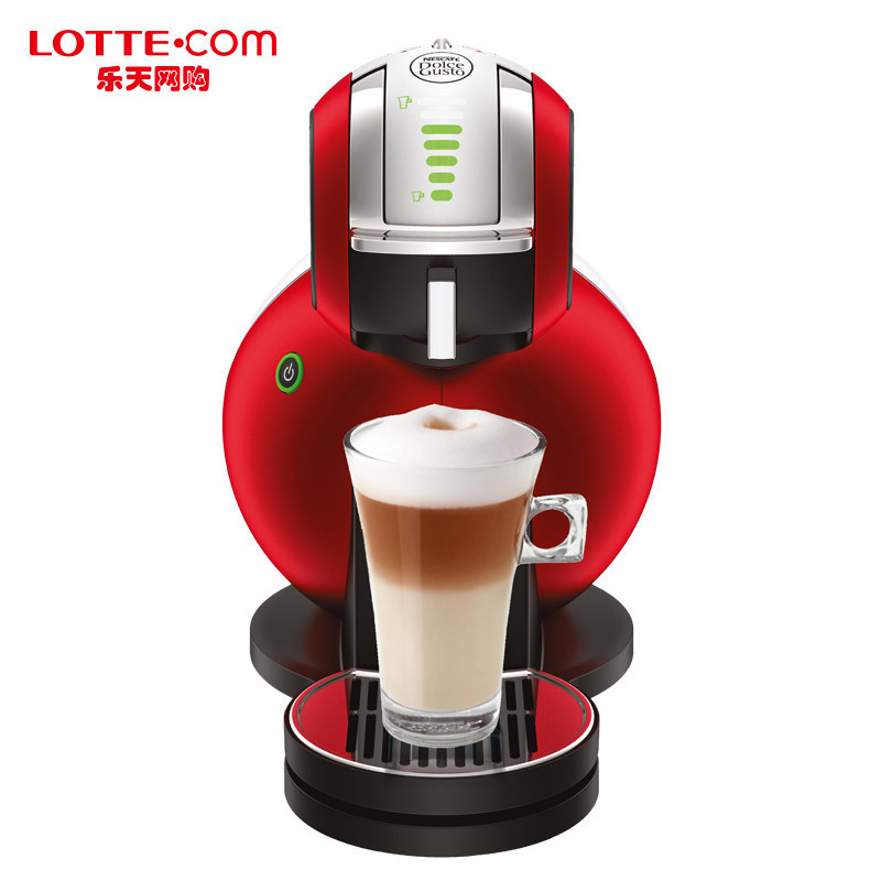 Lotte shopping online dolce gusto melody redwhen red coffee machine korea genuine direct mail
