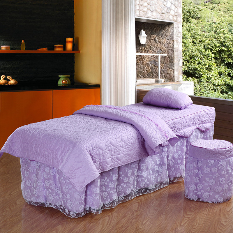 Love knowing each beauty massage fumigation bedspread family of four new princess wind lace korean shipping