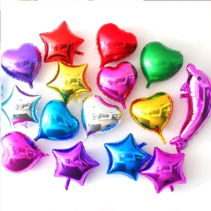 Love man di 5 inch 10 inch 18 cunxin shaped aluminum balloons balloon wedding decoration festive birthday foil balloons love
