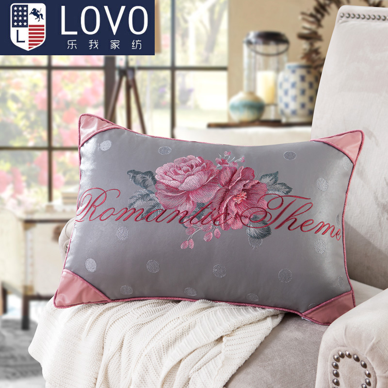 Lovo produced carolina textile pillow pillow pillow music i 35*50 containing pillowslip huadu sensation to sell a small square pillow