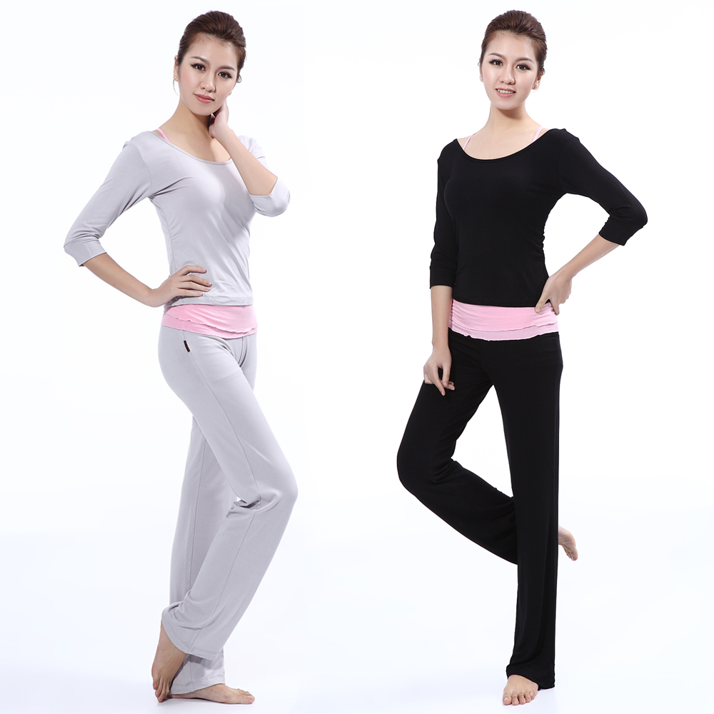 Lu yilan modal yoga clothes suit 2016 spring and autumn female dance yoga clothes yoga clothing three sets of increasingly workout clothes female