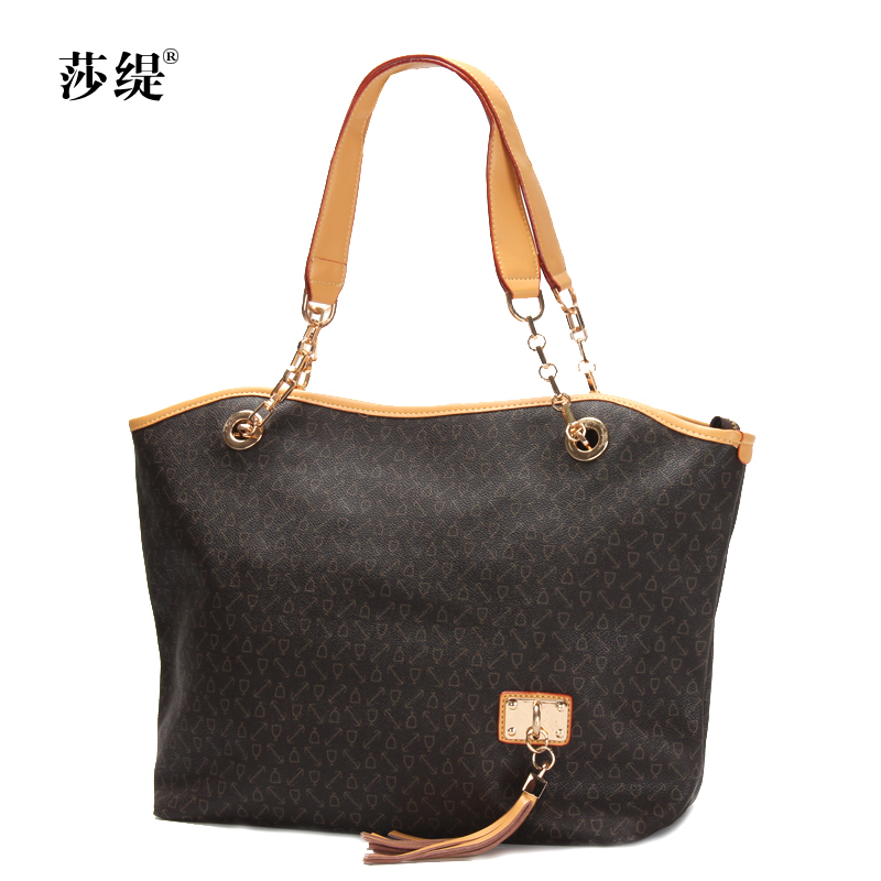 Lufthansa ti 2015 new hit color chain bag ladies handbag shoulder bag european and american fashion flow su middle-aged ladies bags