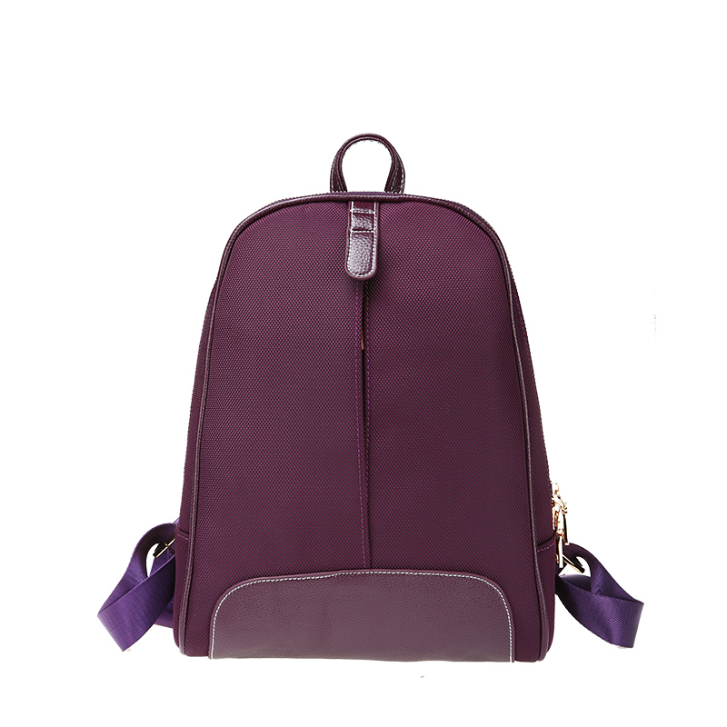 ç¾æ°luo spring and summer new lightweight shoulder bag with leather oxford cloth handbags small bag small backpack tide female students on campus