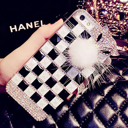 Luxury beauty fan charm blue charm blue protective shell mobile phone sets u20 u10 u20 phone shell diamond influx of creative personality Female