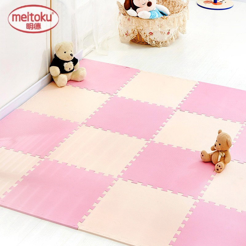 [Lynx supermarket] matilda multicolor solid color large foam puzzle mats children crawling mat baby bed mat