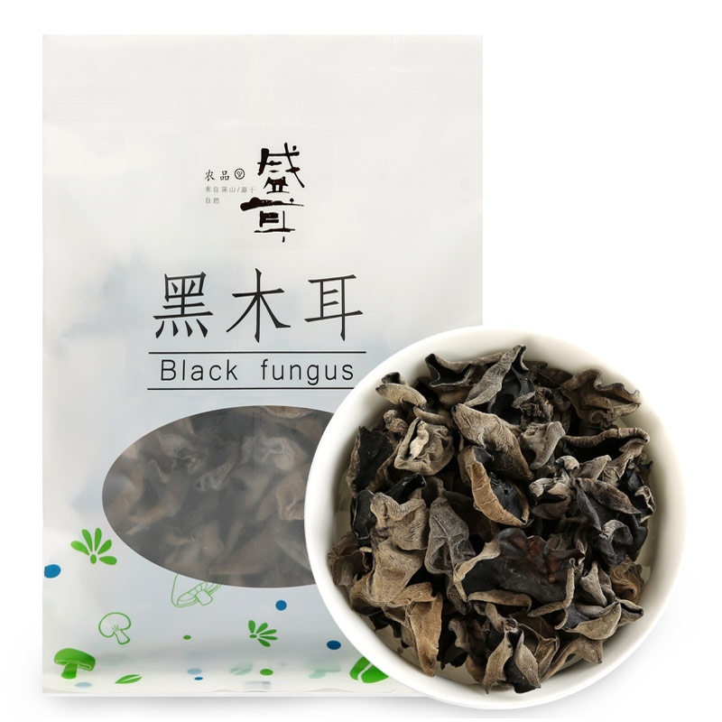 [Lynx supermarket] sheng ear fungus black fungus 18g/bag autumn autumn ear fungus specialty dry meal A bag