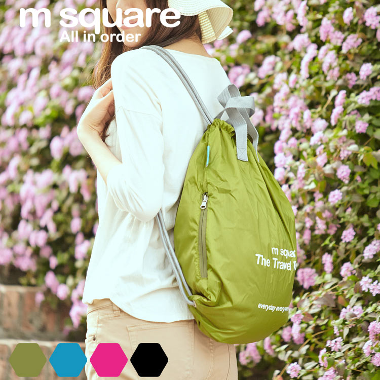 M square waterproof drawstring bag beam port drawstring bag drawstring bag drawstring shoulder bag backpack female sports and fitness