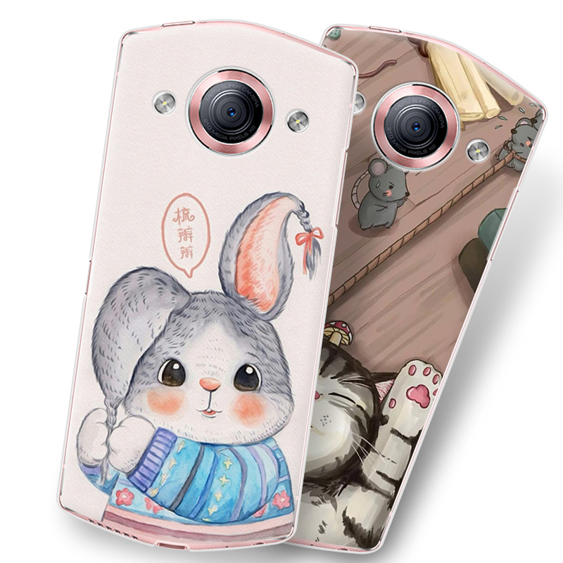 M6 m6 mobile phone sets phone shell mito mito MP1503 protective shell painted hard shell female models literary korea beauty map