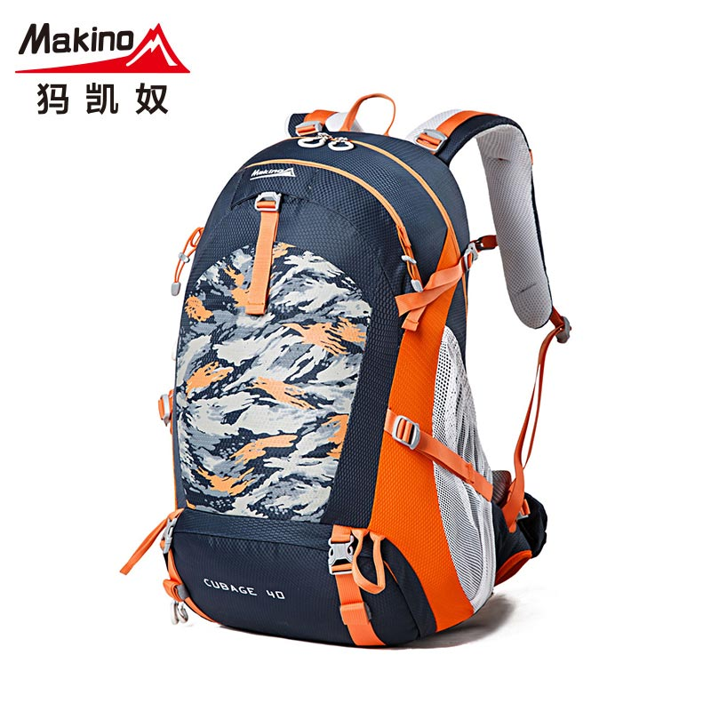 Ma kai slave 2016 summer new outdoor multifunction shoulder bag men and women riding hiking bag 40l