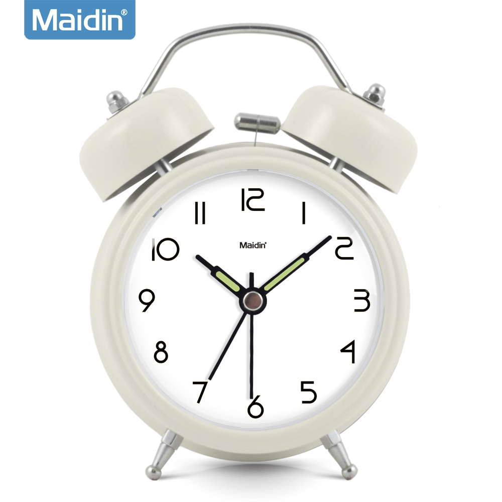 Madine bedroom creative student bedside alarm clock mute lazy snooze alarm clock luminous watches personalized 945