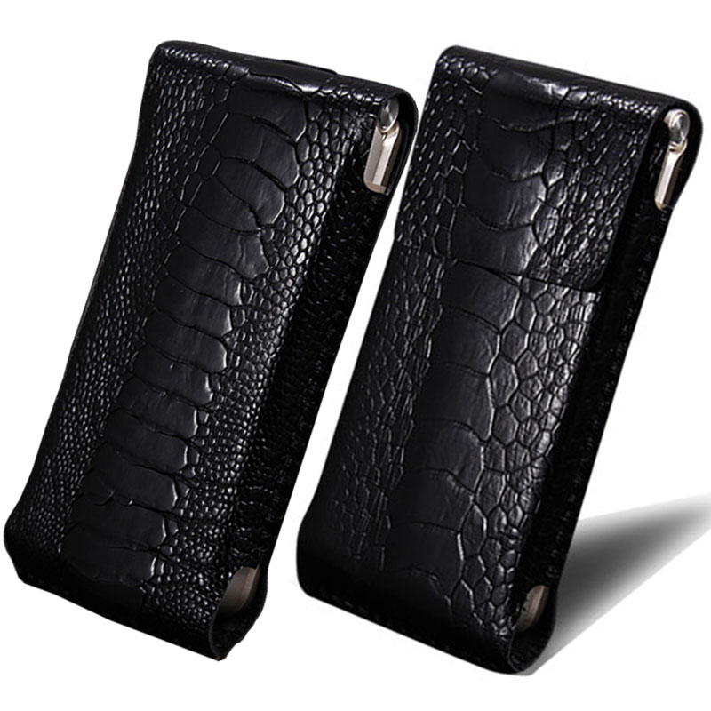 Magic dizzness w2016 ostrich leg leather samsung mobile phone sets leather holster clamshell mobile phone shell protective sleeve the whole package models