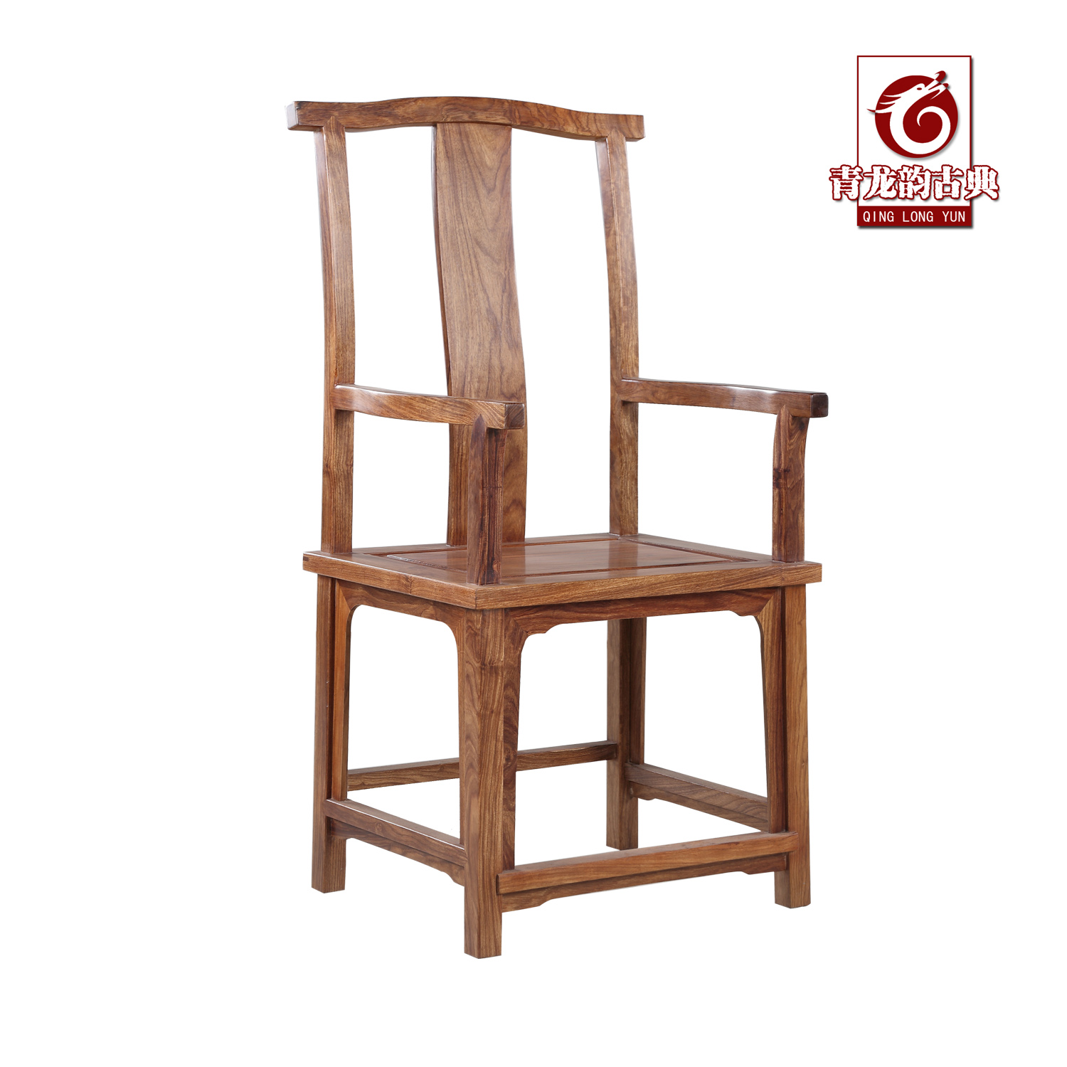 Mahogany furniture of ming and qing classical chinese antique wood flathead four succeed armchairs chair lounge chair chair office chair