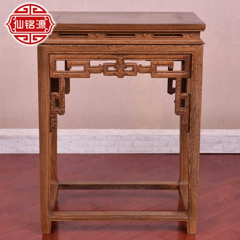 Mahogany wenge wood flower flower flower chinese antique ming and qing classical wenge wood flower flower flower flower wood display rack
