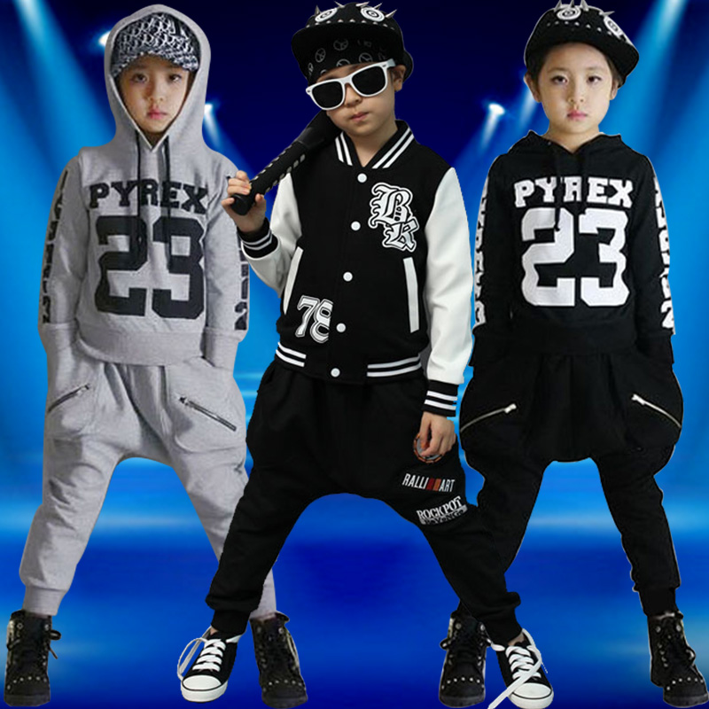 Ballet Just New Boys And Girls Children Hip Hop Street Dance Jazz Dance Hiphop Drums Embroidered Costumes Stage Costumes