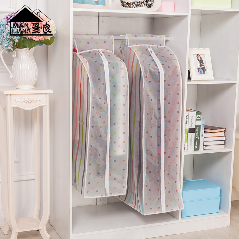 Man good clothes clothes hang the bag dust cover clothing storage dust bag suit sets of large three-dimensional clothes dust cover clothes cover