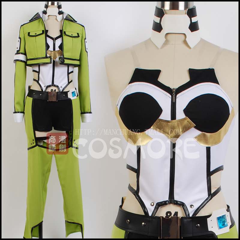 Man hit ghost bullets/sword art online in the second quarter asada shino combat service cos cos cosplay costume