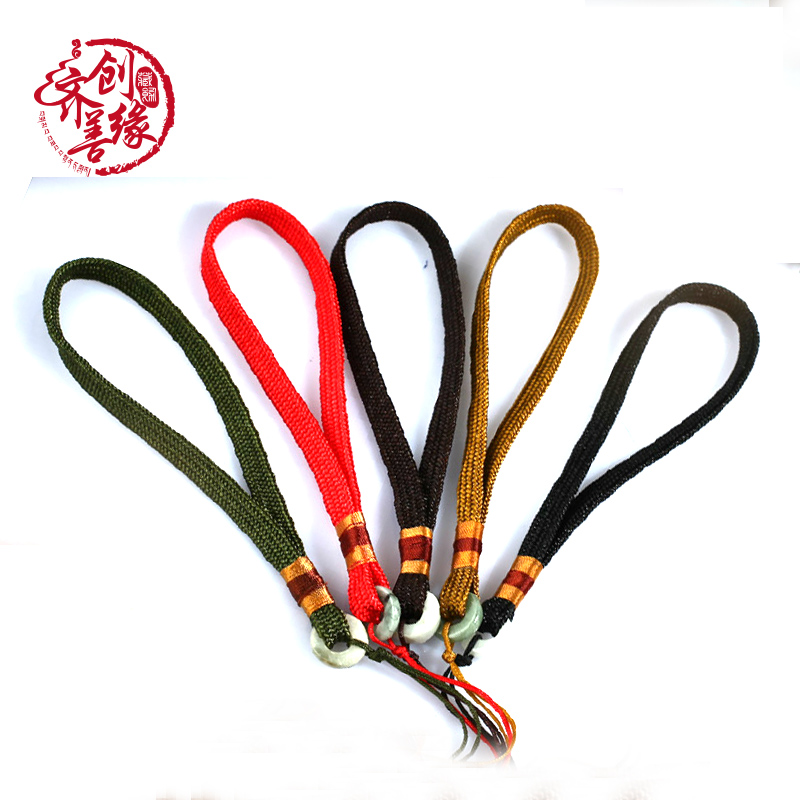 Man playing jade accessories jade and nephrite jade pieces of rope to pieces of jade pieces of rope rope diy accessories