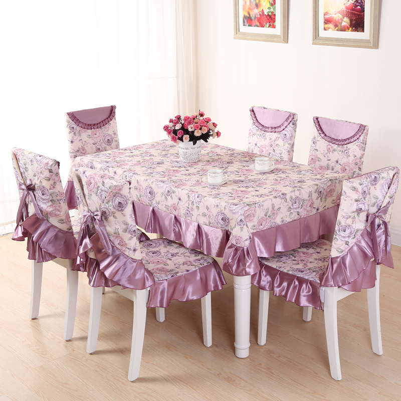 Manditaili pastoral coffee table tablecloth tablecloth fabric table cloth coverings chair covers dining chair cushion table cloth suit