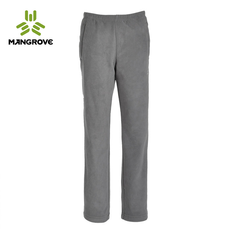 Mange fu mangrove ladieswear casual thick fleece trousers antistatic warm fleece pants female 1166