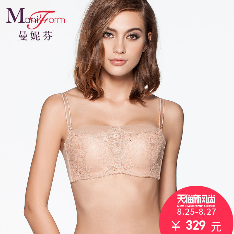 Maniform 2016 malls the same paragraph spring and summer sexy lace bra side income furu anti emptied bra bra underwear