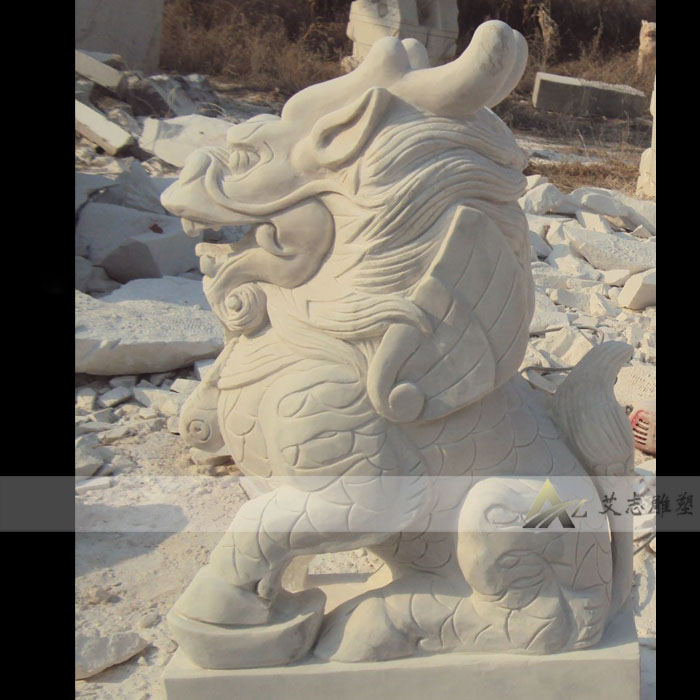 Marble stone carving animal feng shui stone lions lion lion sculpture custom ST223