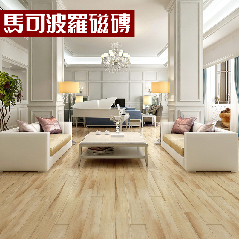 Marco polo living room bedroom brick tile imitation wood floor FP9033 olive wood wood brick 150x900mm