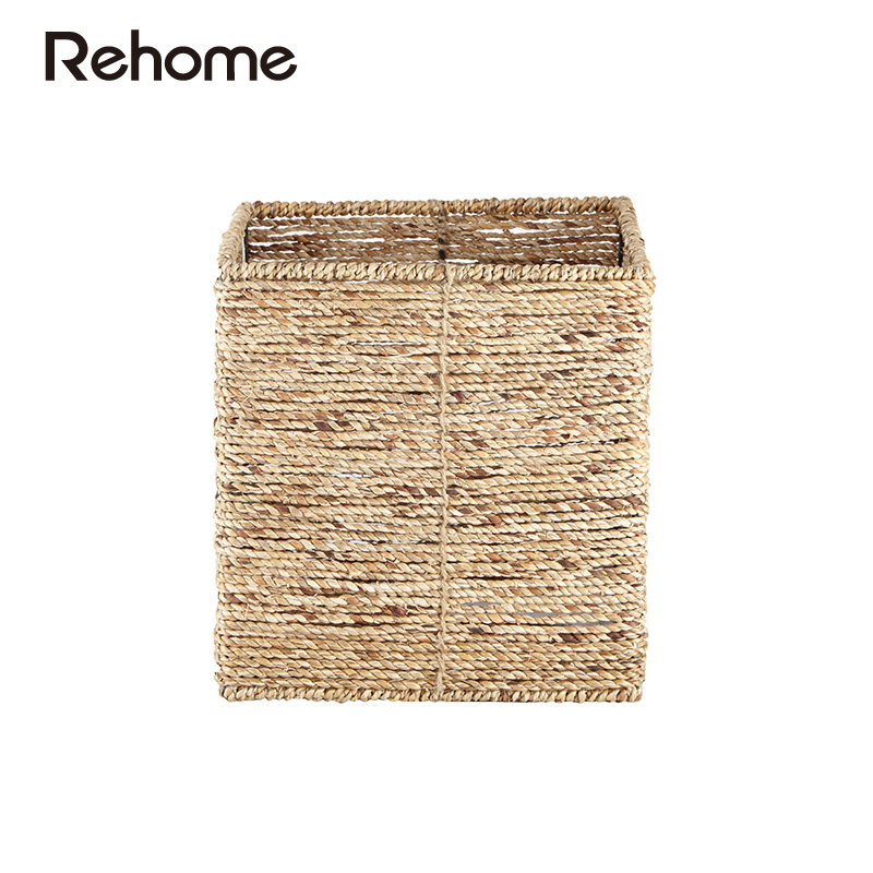 Markor rehome sisalana perrine R1006000012 shu produced handmade home storage compartment storage basket square basket