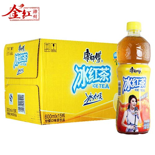 Master kong instant drink lemon ice tea 600 ml * 15 bottles (fcl)