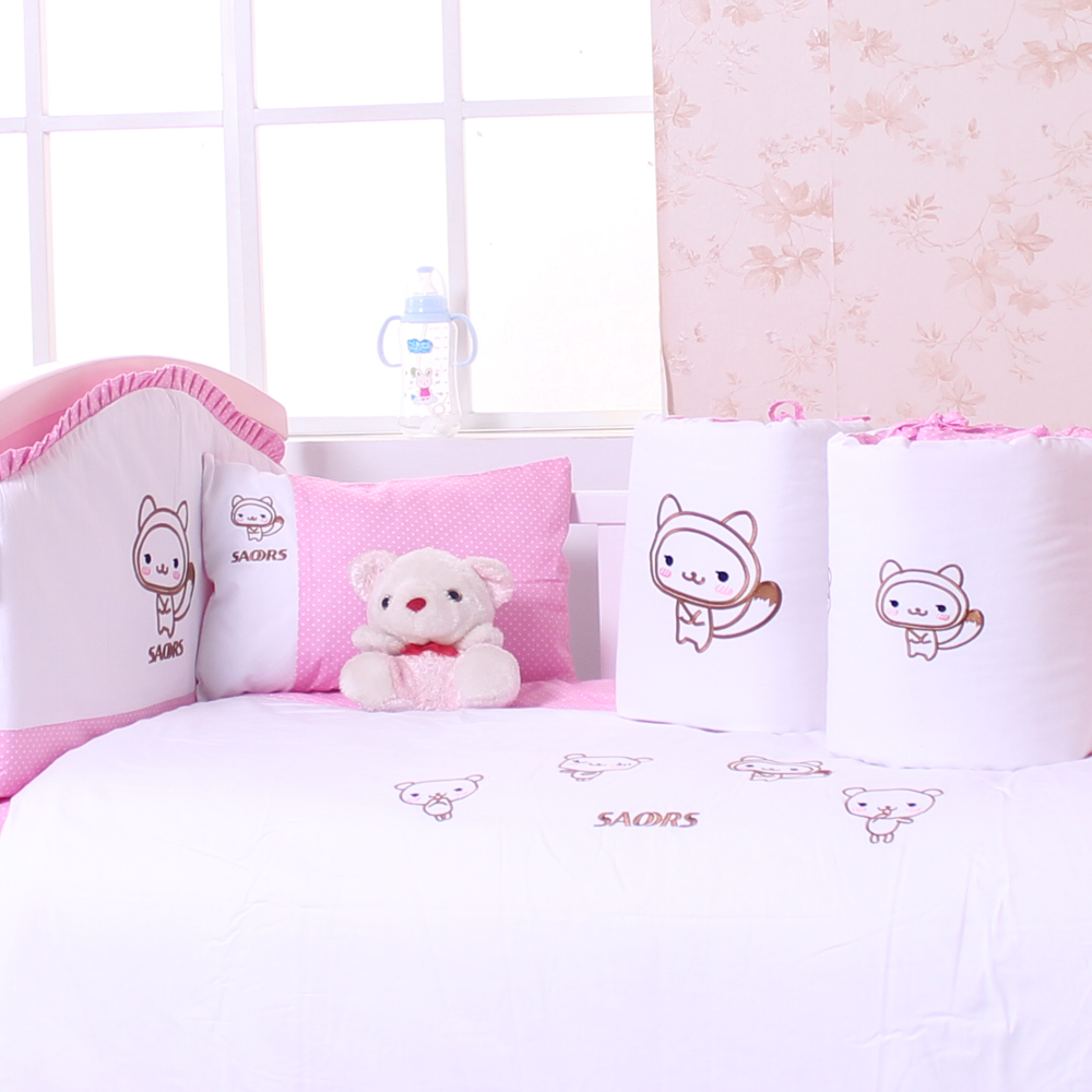 Master small baby baby bedding suite cotton baby bedding cotton bed around eight sets many provinces shipping