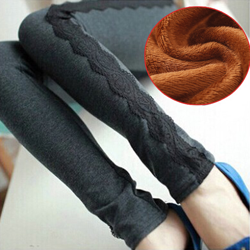 Maternity fall and winter clothes for pregnant women leggings autumn big yards plus thick velvet pregnant women care belly pants trousers pants feet