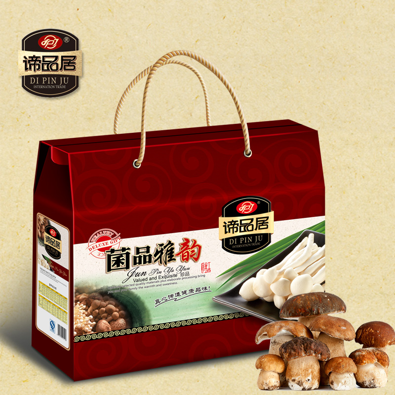 Matisse for habitat dried bacteria delicacies gift box spree native fungus fungus dry autumn mushrooms 1260g