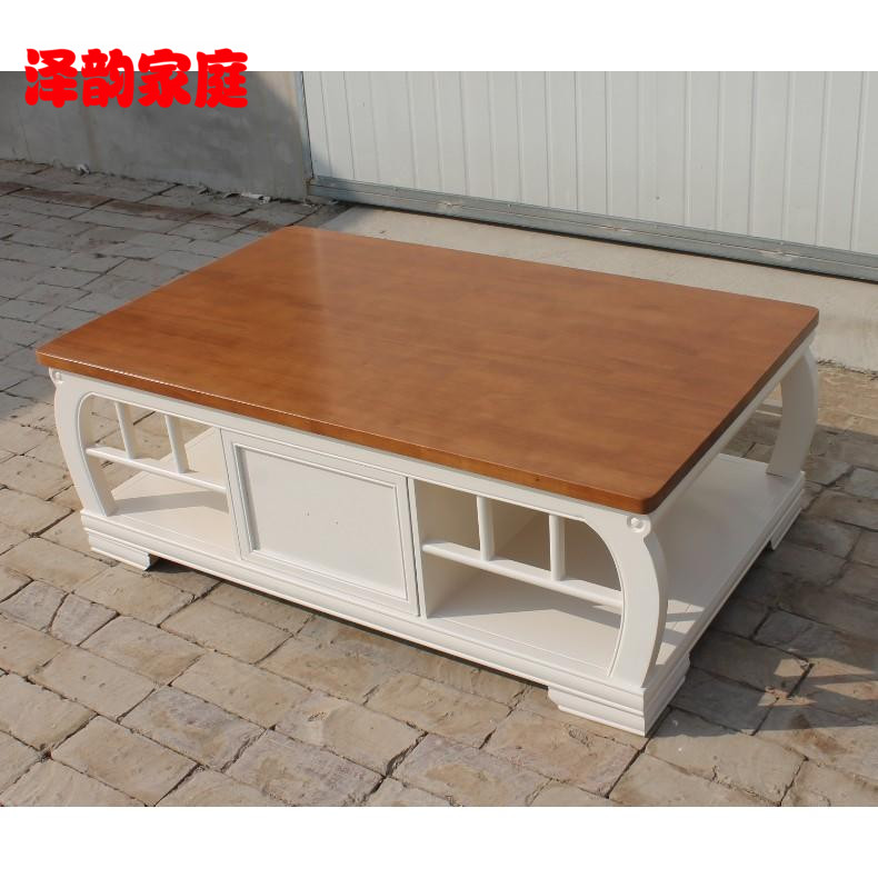 Mediterranean pastoral coffee table coffee table coffee table coffee table american country living room coffee table wood coffee table solid wood coffee table wood coffee table