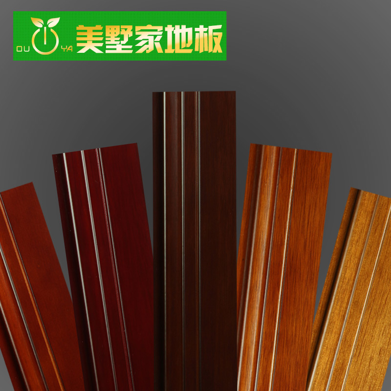 Meishu upscale pure pure solid wood baseboard foot line paint antique wood baseboard plane e0 environmental protection