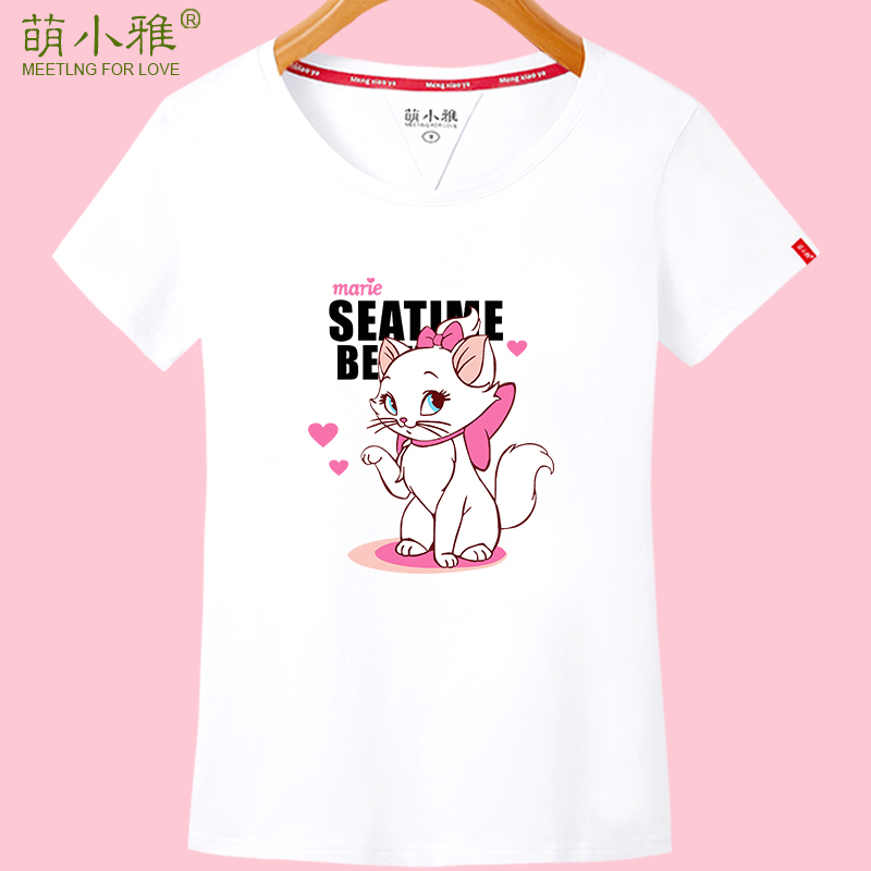 Meng xiaoya 2016 new spring and summer short sleeve t-shirt female korean girls wear school uniforms korean version bottoming shirt cotton compassionate