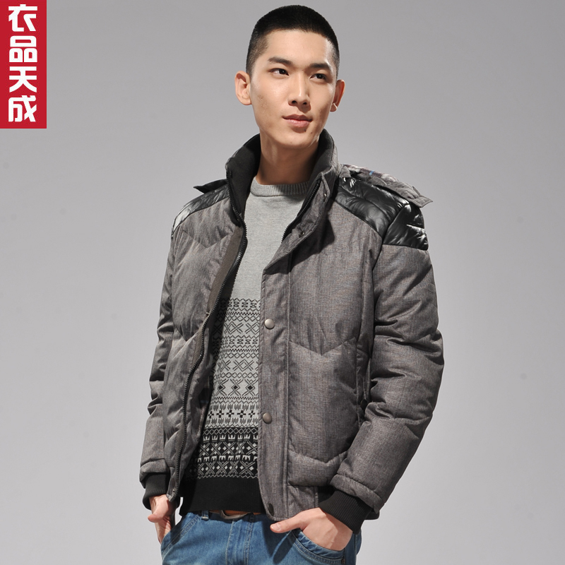 Men's clothing items tiancheng new autumn fashion coat male detachable cap coat 1208M31
