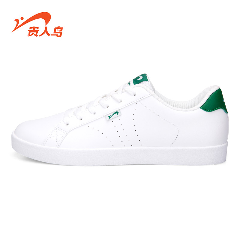 Men's elegant birds wild skid shoes 2016 summer new classic white sports shoes skateboard shoes men