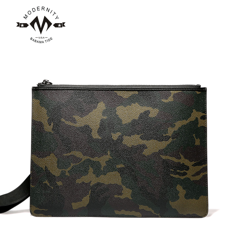 Men's leather clutch handbag clutch bag handbag clutch bag man bag business casual first layer of