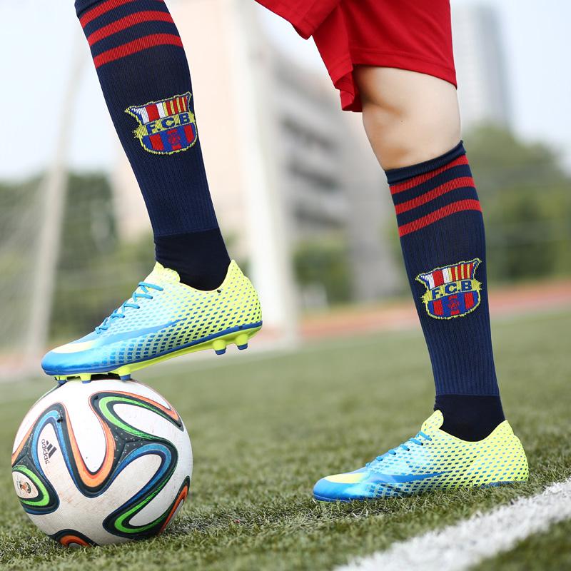 da8485136 Men s soccer shoes soccer training shoes broken nails slip ag artificial  grass short nails soccer shoes