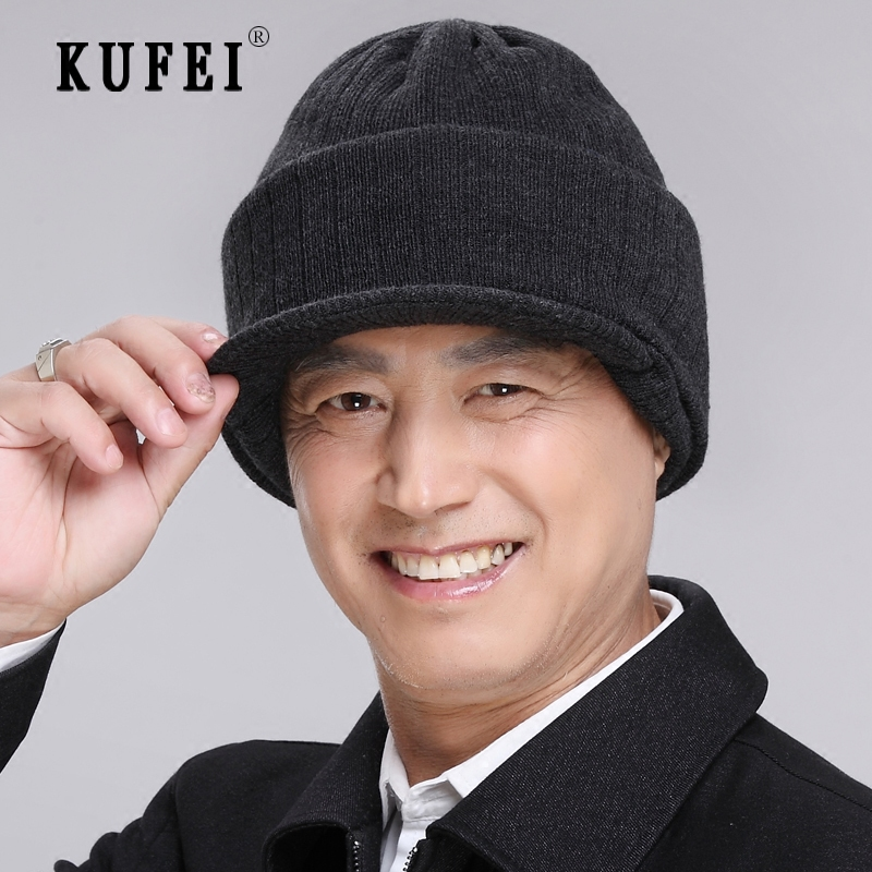 Get Quotations · Men s winter snow outdoor wind and snow cap hat cap elderly  father warm old tiger riding 65512d5f391b