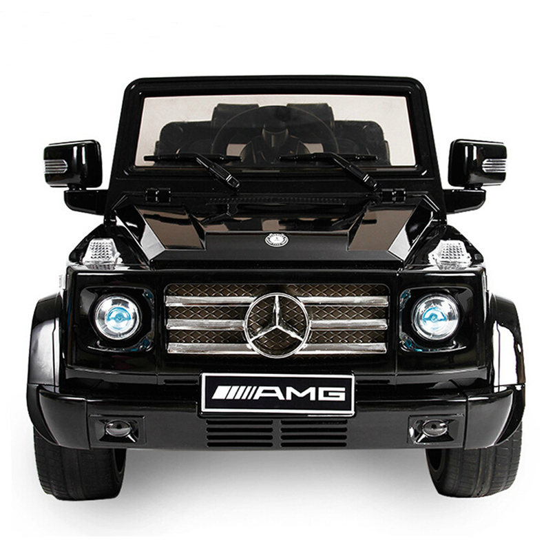 Mercedes benz g55 children electric car can sit four baby stroller buggy remote control toy car children car oversized