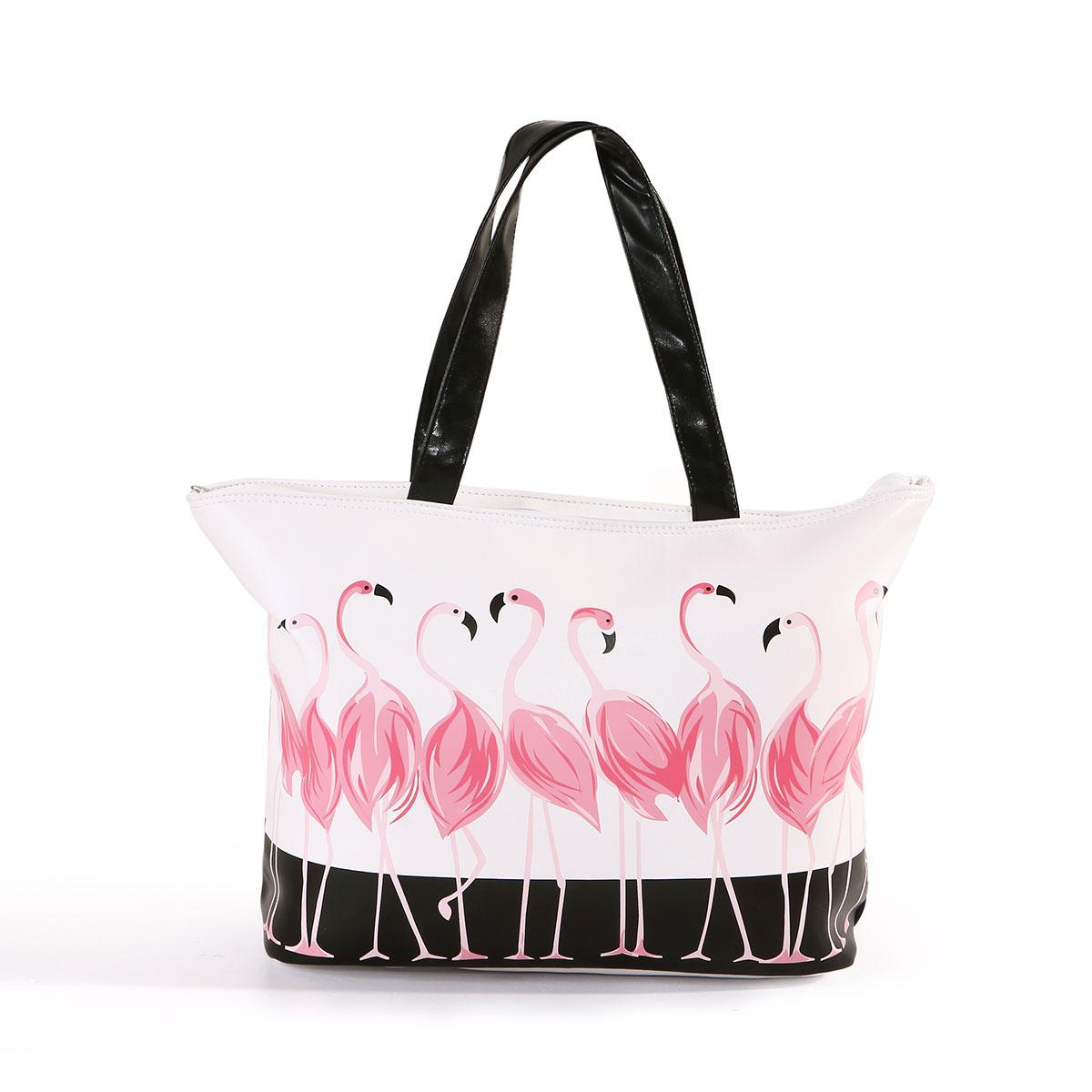 Mercury Textile Flamingo Women Bag Handbag European And American Fashion Trend Hand 2017 New