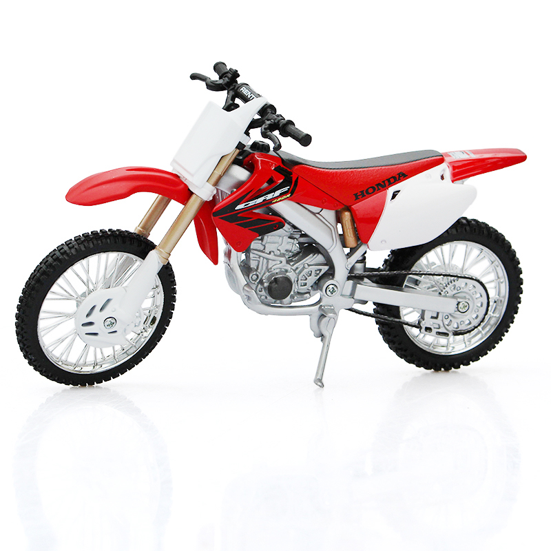Meritor figure maisto simulation alloy motorcycle honda honda crf 450r 1:126 model collection