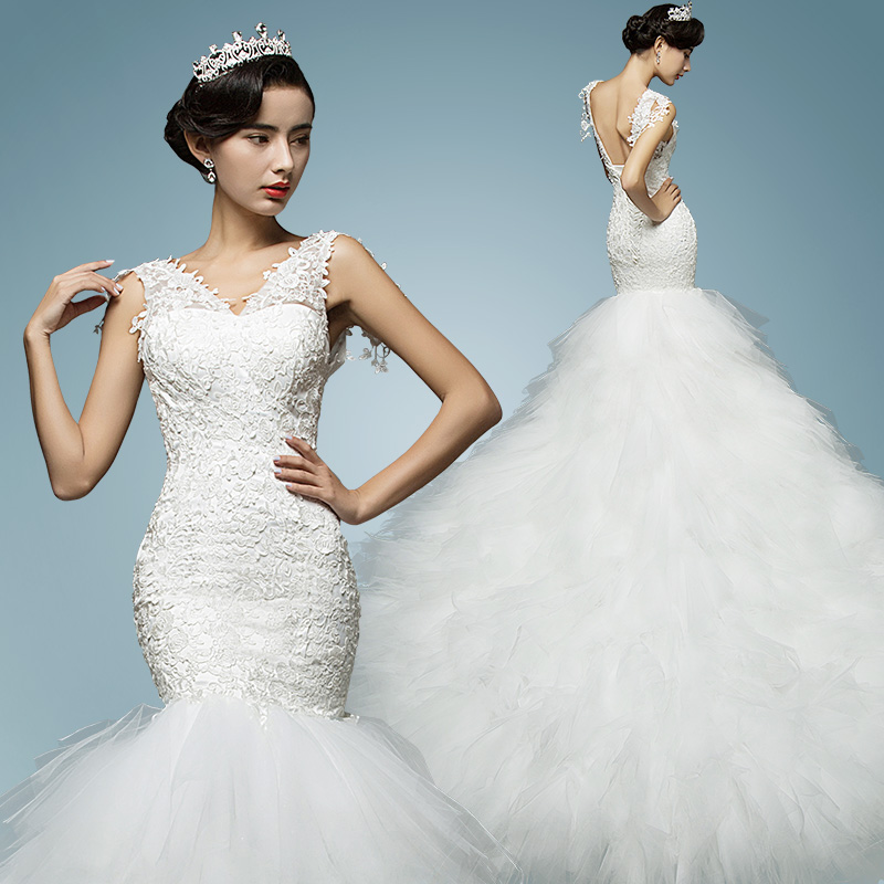 China Mermaid Wedding Dress, China Mermaid Wedding Dress Shopping ...