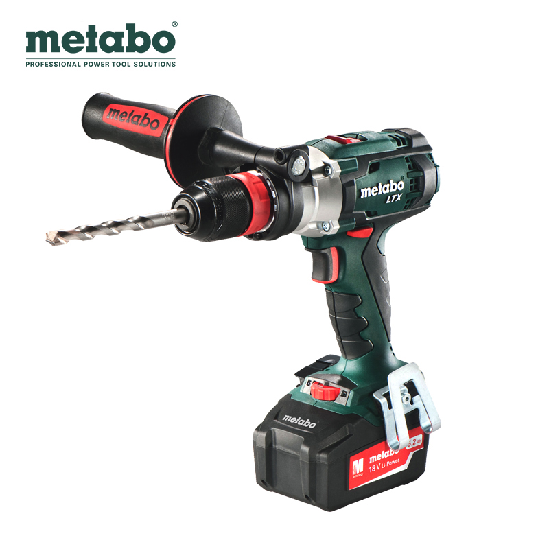 Metabo/metabo drill impact drill lithium battery pulse SB18LTX implus/drill 4.0ah