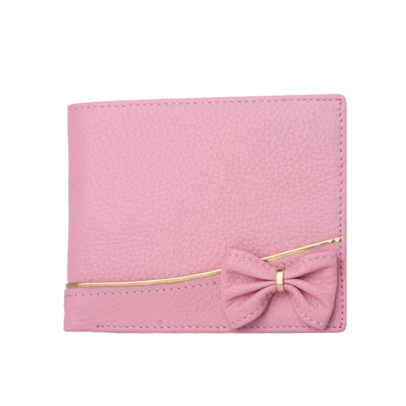 Mexican/scarecrow ms. wallet leather wallet fashion leather wallet women short paragraph students pink