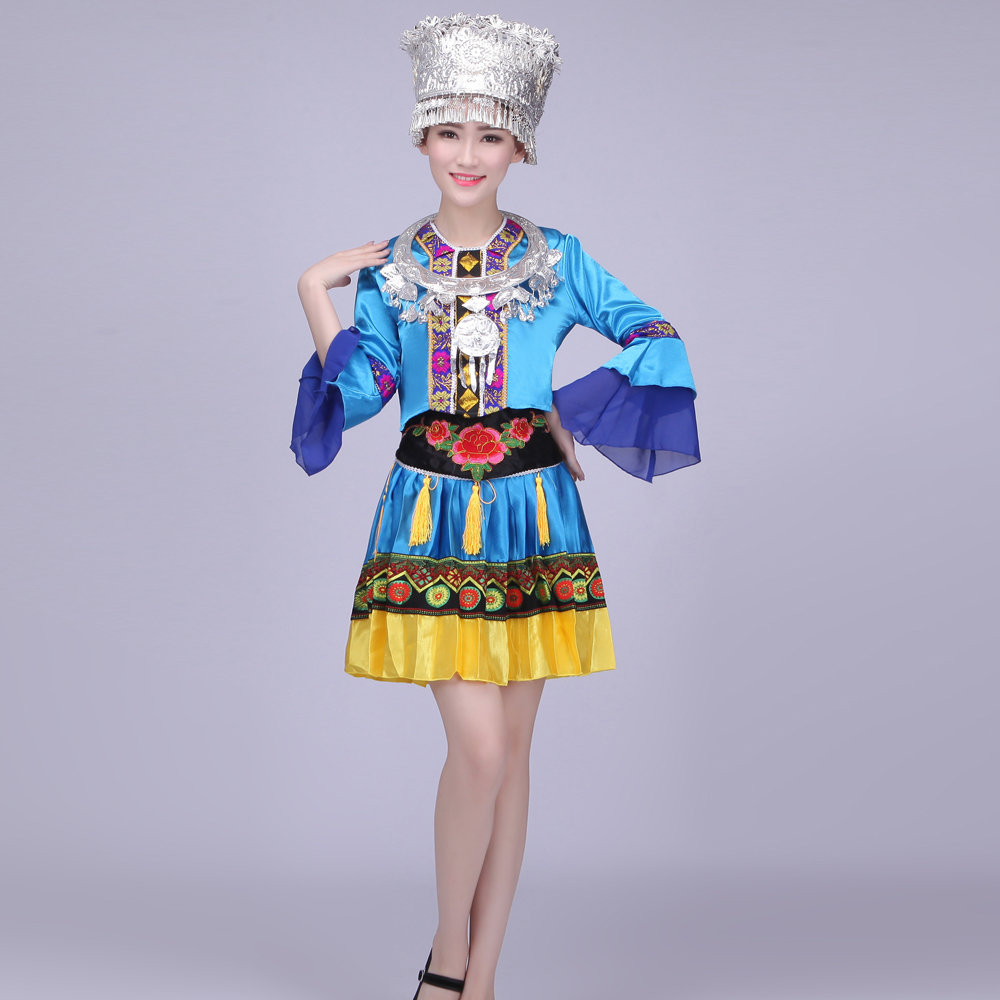 10e274b9f Get Quotations · Miao ethnic minority women's clothing costumes costumes  costumes tujia and miao zhuang and yao and dong